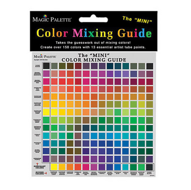 Mini Color Mixing Guide by Magic Palette - by Unknown - K. A. Artist Shop