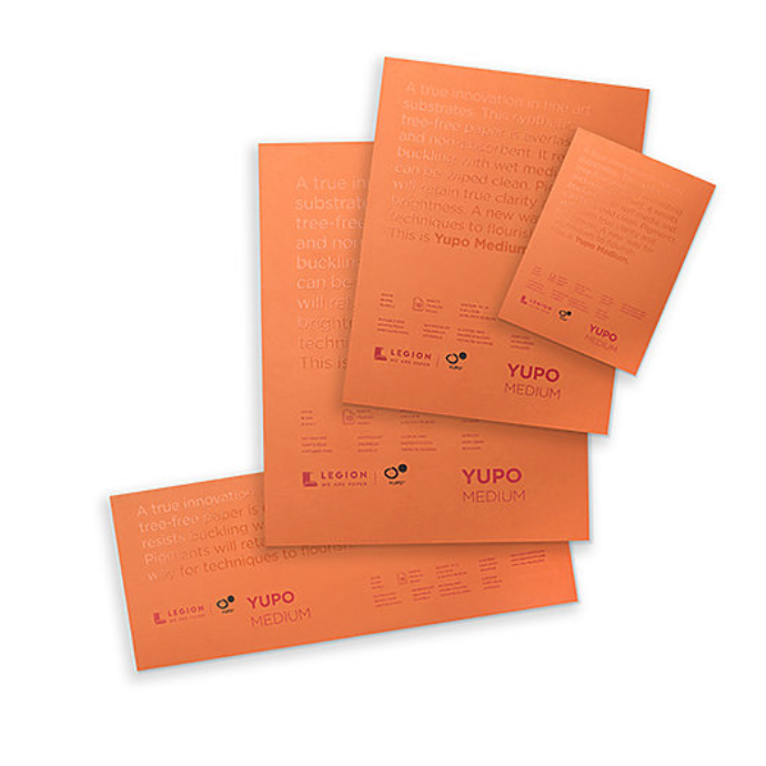 Yupo Polypropylene Pad - White - Medium Weight
