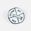 """Indecisive Spinner"" Enamel Pin by ADAMJK"