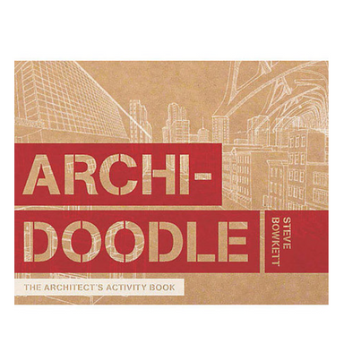 """Archidoodle"" Activity Book by Steve Bowkett - by Chronicle Books - K. A. Artist Shop"