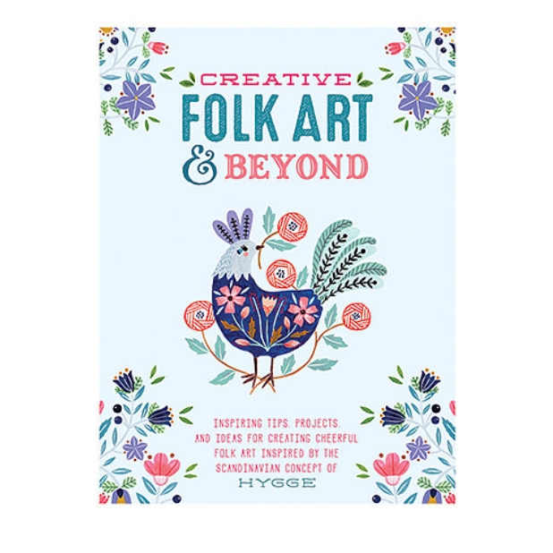 """Creative Folk Art and Beyond"" Book by Walter Foster"