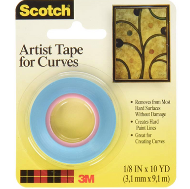 Scotch Artist Tape for Curves - by 3M - K. A. Artist Shop
