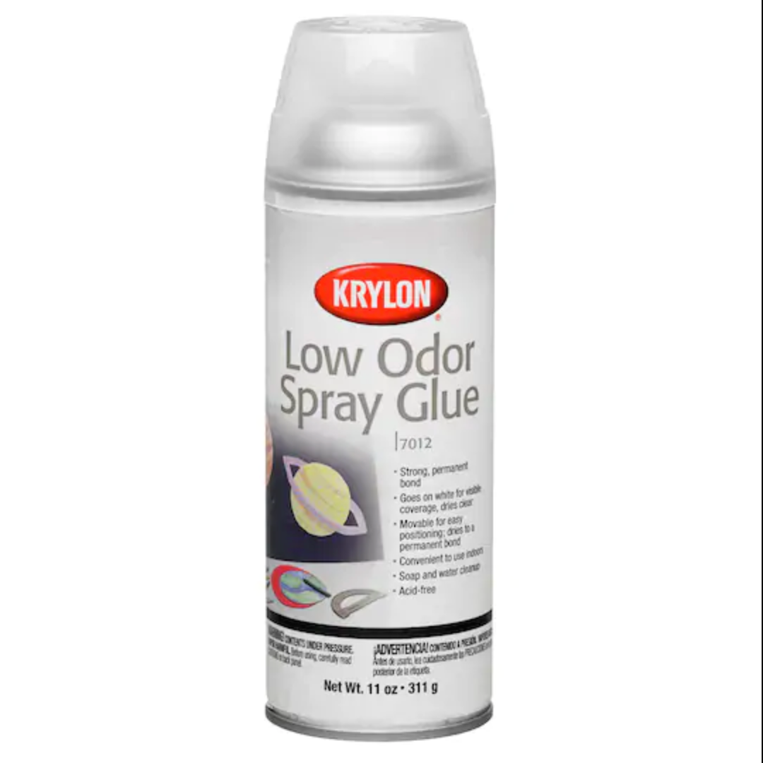 Krylon Low Odor Spray Glue (11 oz)