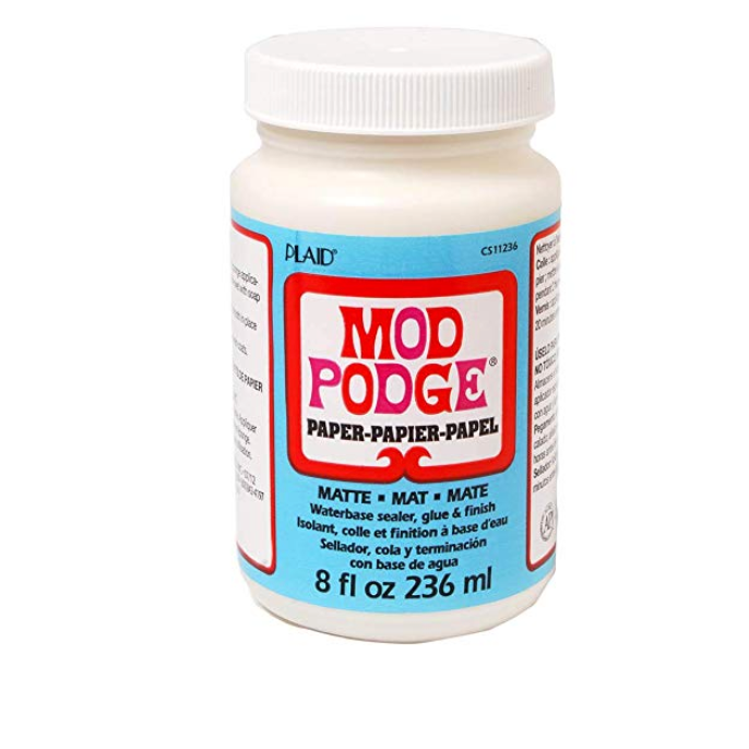 Mod Podge Water-Based Matte Paper Sealer - 8 oz