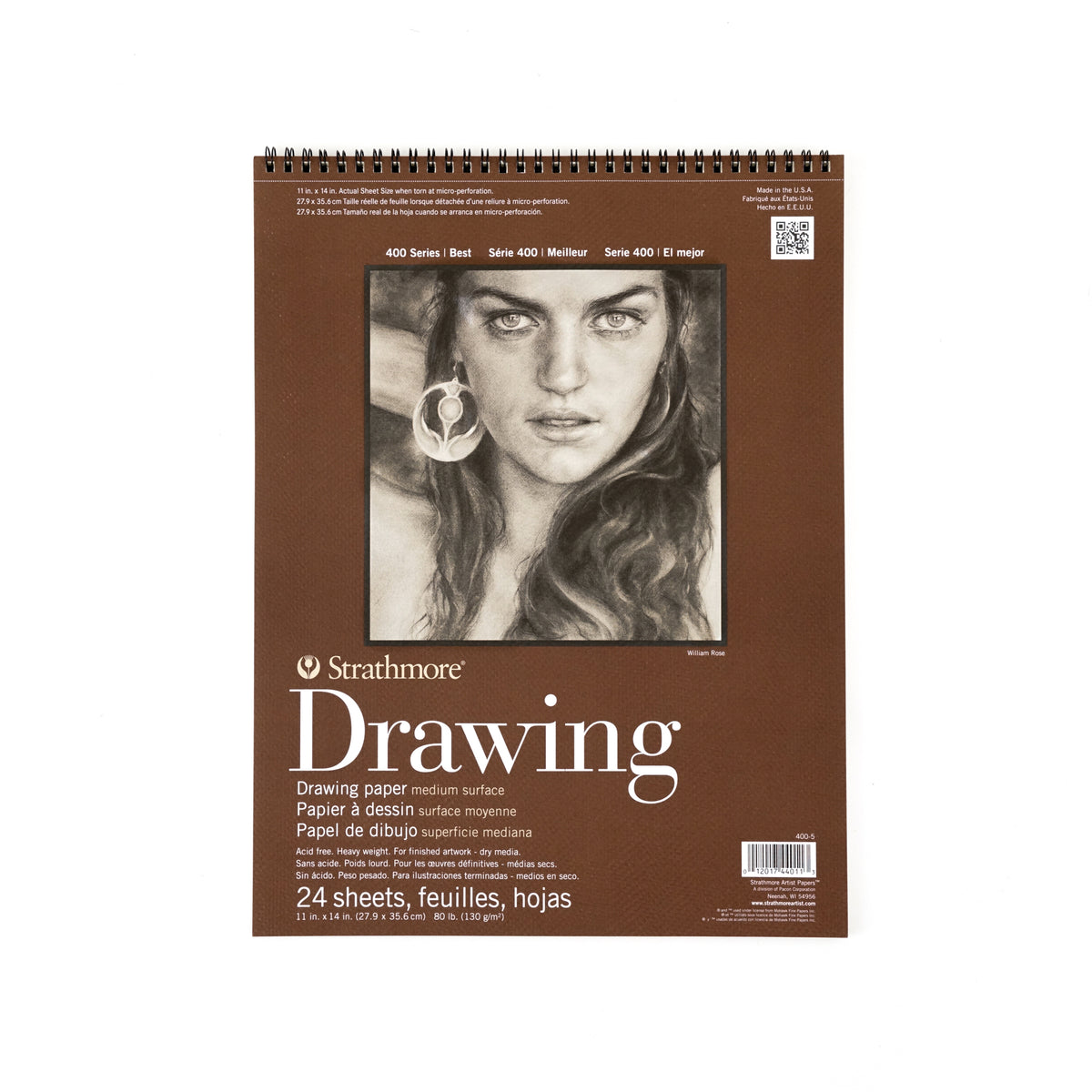Strathmore Drawing Paper Pad - 400 Series - Medium Surface