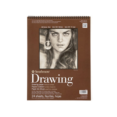 Strathmore Drawing Paper Pad - 400 Series - Medium Surface - 11 x 14 inches - 11 x 14 inches by Strathmore - K. A. Artist Shop