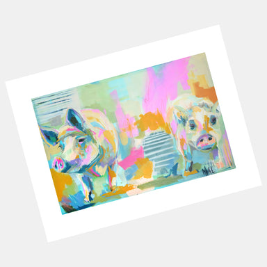 """Up to No Good"" Print by Mallory Moye - by Mallory Moye - K. A. Artist Shop"