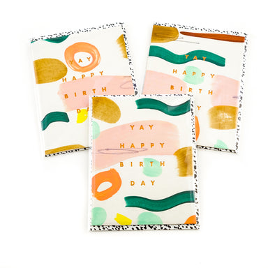 """Yay Birthday"" Card by Moglea - by Moglea - K. A. Artist Shop"