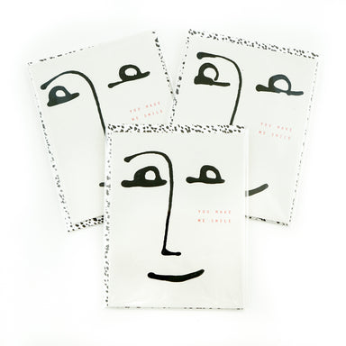 """You Make Me Smile"" Card by Moglea - by Moglea - K. A. Artist Shop"