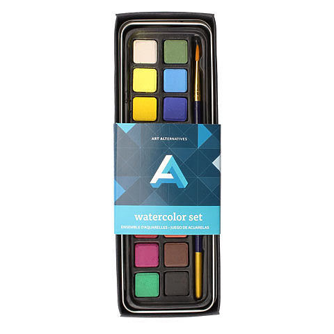 Art Alternatives Tin Watercolor Set - by Art Alternatives - K. A. Artist Shop