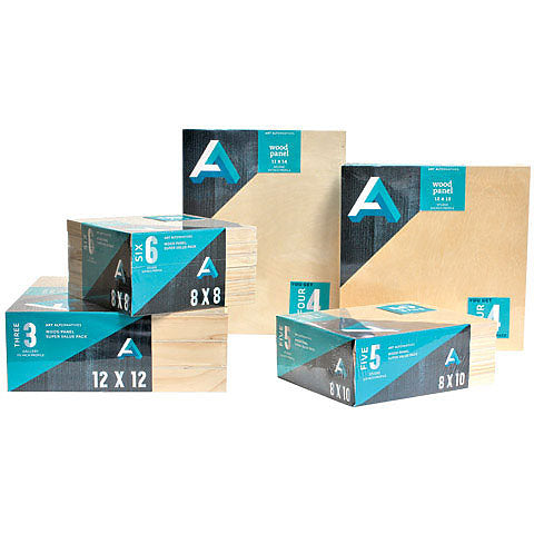 "Art Alternatives Wood Panel Value Pack with Sudio 3/4"" Profile"