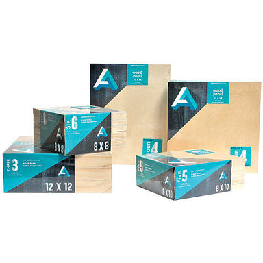"Art Alternatives Wood Panel Value Pack with Studio 3/4"" Profile - by Art Alternatives - K. A. Artist Shop"
