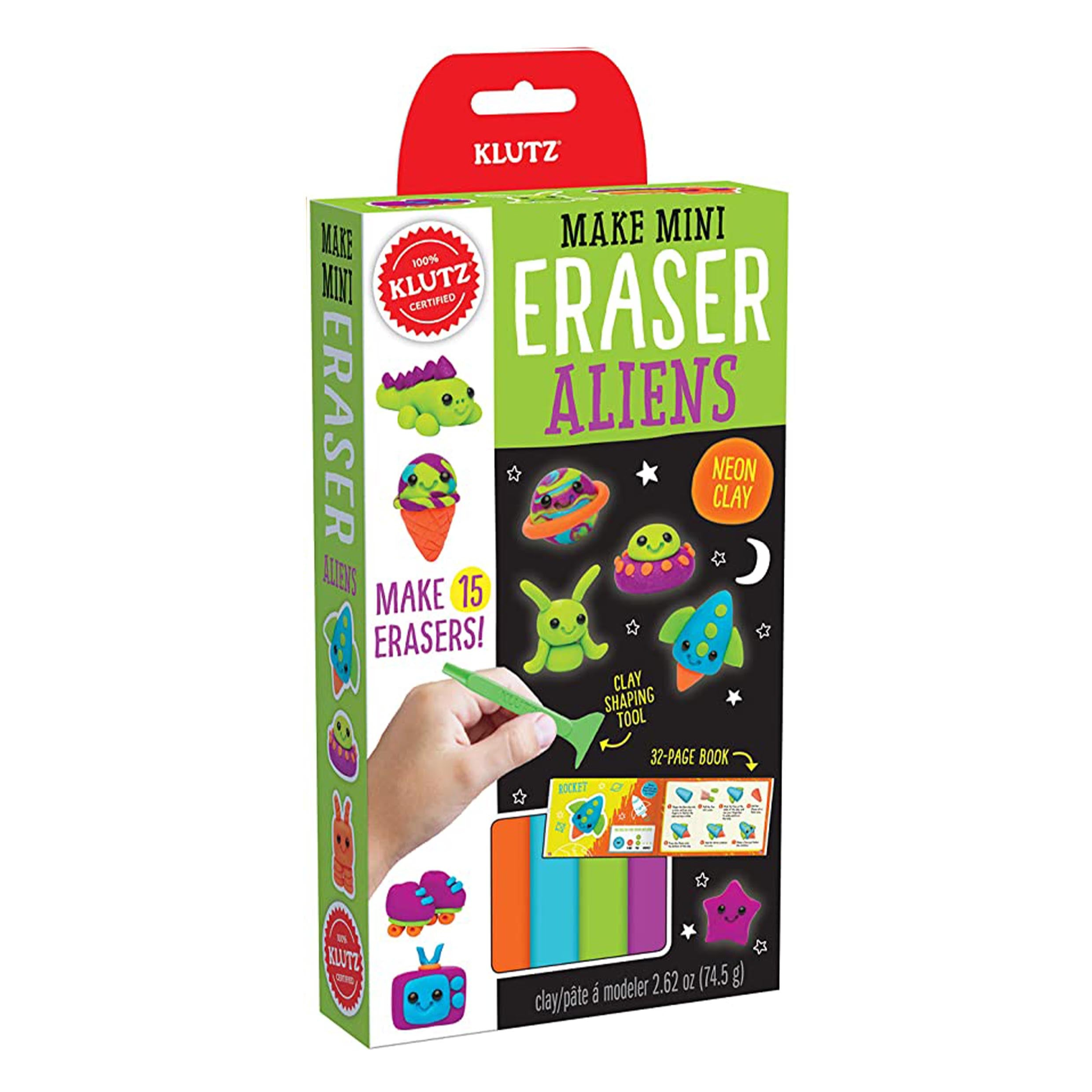 Make Mini Eraser Kits - Aliens by Klutz - K. A. Artist Shop