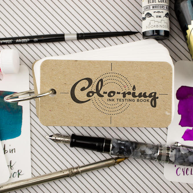 Col-o-ring Ink Swatch Booklets - by The Well-Appointed Desk - K. A. Artist Shop