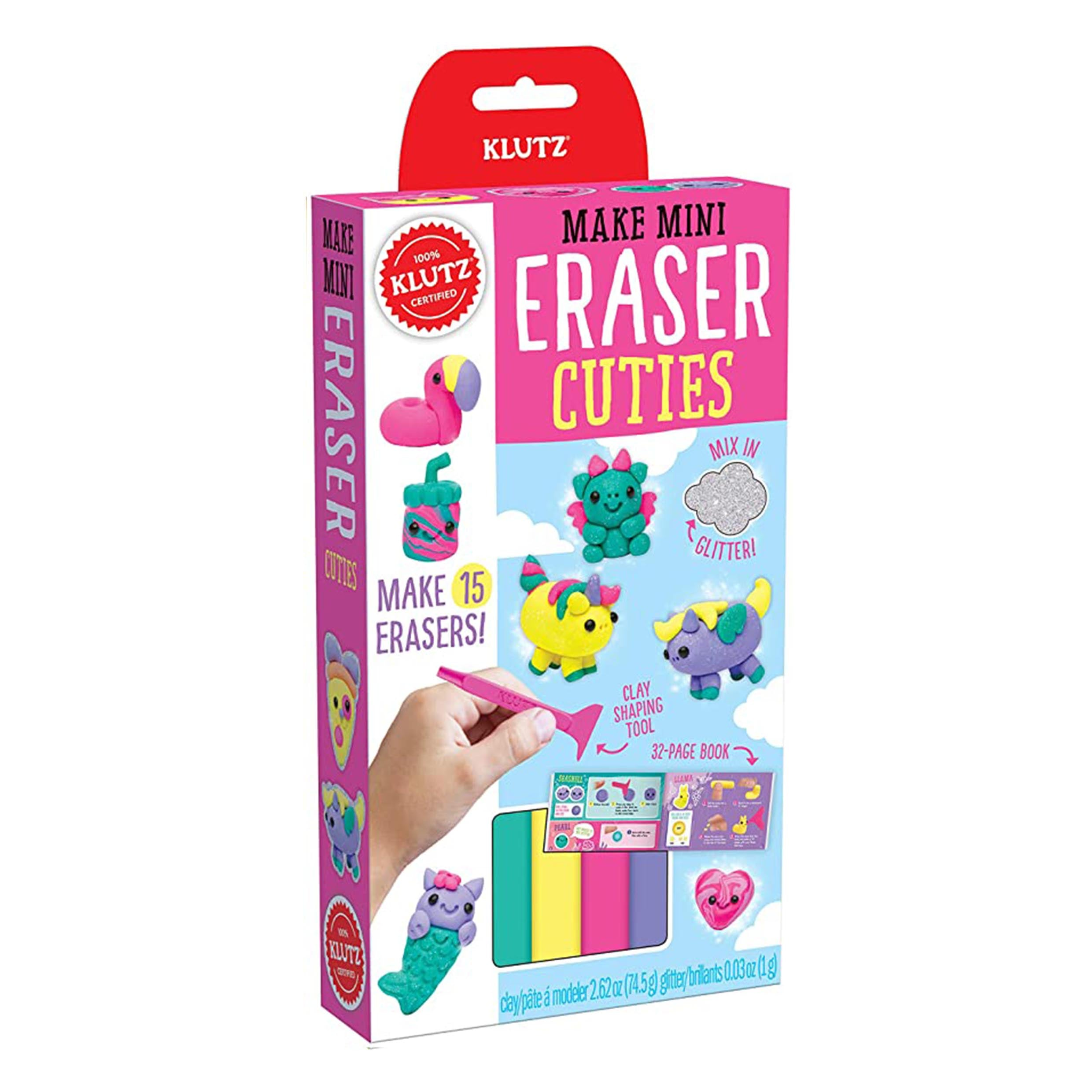 Make Mini Eraser Kits - Cuties by Klutz - K. A. Artist Shop