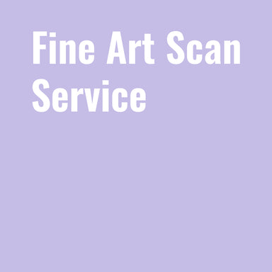 Fine Art Scan Service - by K. A. Artist Shop Services - K. A. Artist Shop