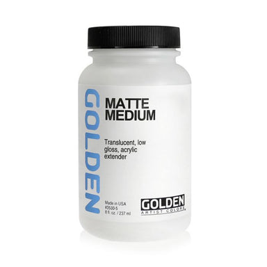 Golden Matte Medium - 8 oz - by Golden - K. A. Artist Shop