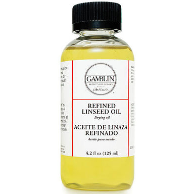 Gamblin Refined Linseed Oil - by Gamblin - K. A. Artist Shop