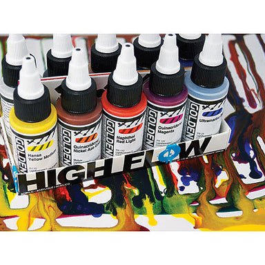 Golden High Flow Acrylic Set - by Golden - K. A. Artist Shop