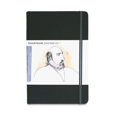 "Drawing Journals by Hand Book - Large Portrait - 5.5"" x 8.25"" / Ivory Black by Hand.Book - K. A. Artist Shop"