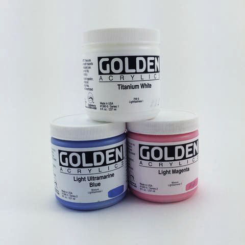 Golden Heavy Body Acrylics - 8oz. Jar