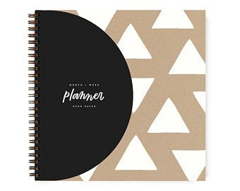 Open-Dated Planner by Worthwhile Paper - Triangles