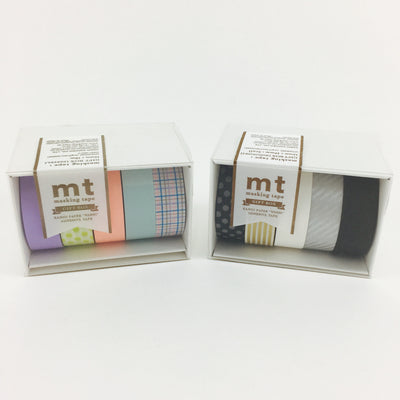 MT Washi Tape Gift Box - Set of 5 - 15mm x 10mm