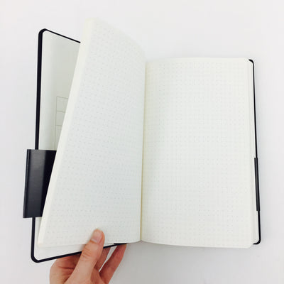 Slate Travel Notebook with 602 Pencil by Blackwing