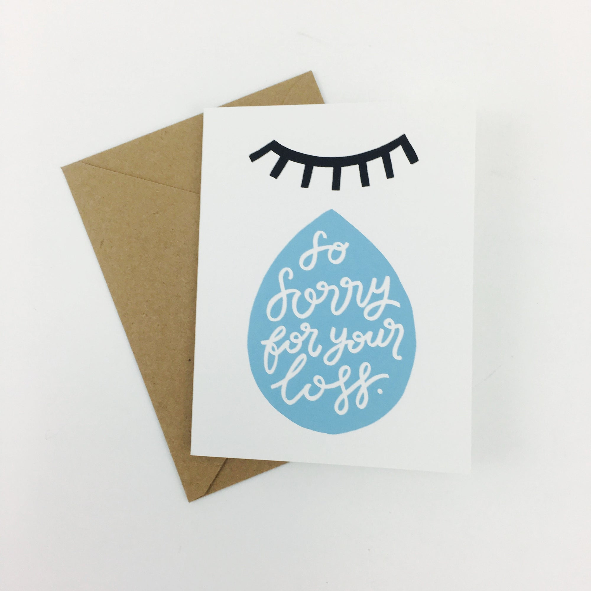 """So Sorry For Your Loss"" Card by Worthwhile Paper"