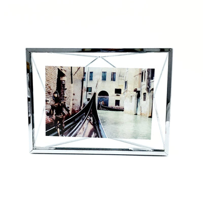 """Prisma"" Picture Frames in Chrome by Umbra"