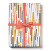 Red Cap Gift Wrap - Candle Wrapping Paper - 3 Sheets - by Red Cap - K. A. Artist Shop