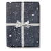 Red Cap Gift Wrap - Moon and Stars Wrapping Paper - 3 Sheets - by Red Cap - K. A. Artist Shop