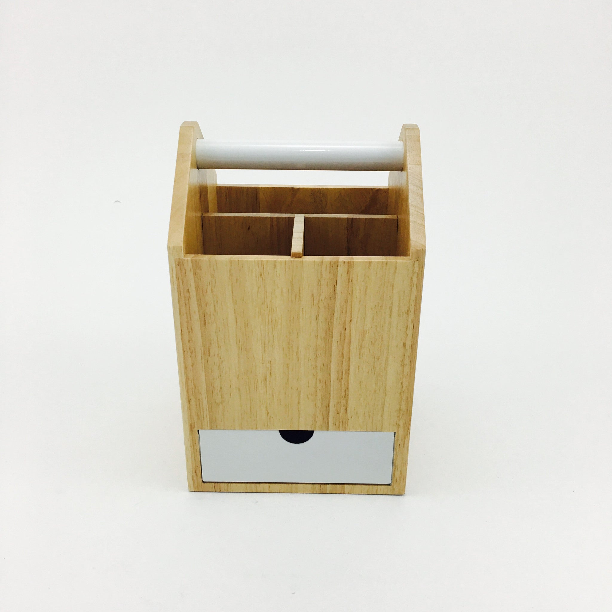 """Toto"" Storage Boxes in Natural Birch & White by Umbra - by Umbra - K. A. Artist Shop"