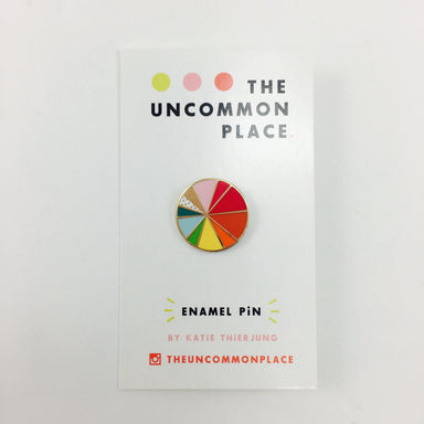 The Uncommon Place Enamel Pins by Katie Thierjung - Color Wheel by The Uncommon Place - K. A. Artist Shop