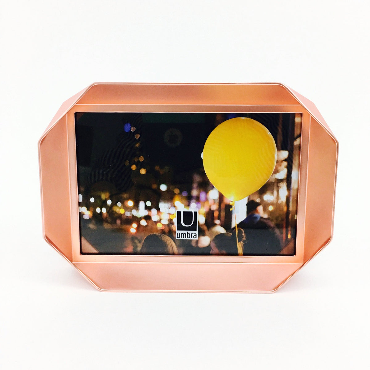 """Fotobend"" Picture Frame in Copper by Umbra - 4 x 6 inches"