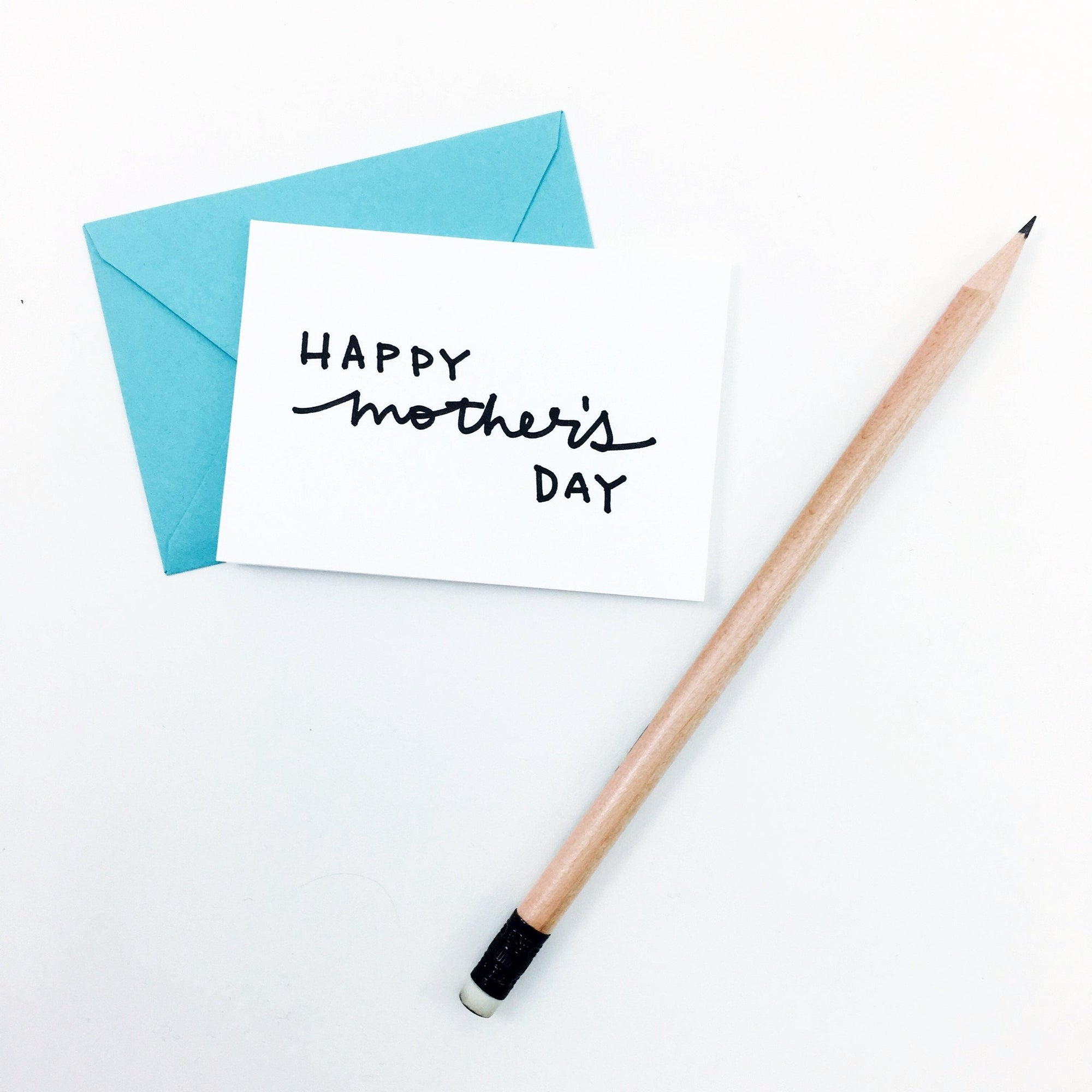 """Happy Mother's Day"" Mini Hand-Drawn Greeting Card"