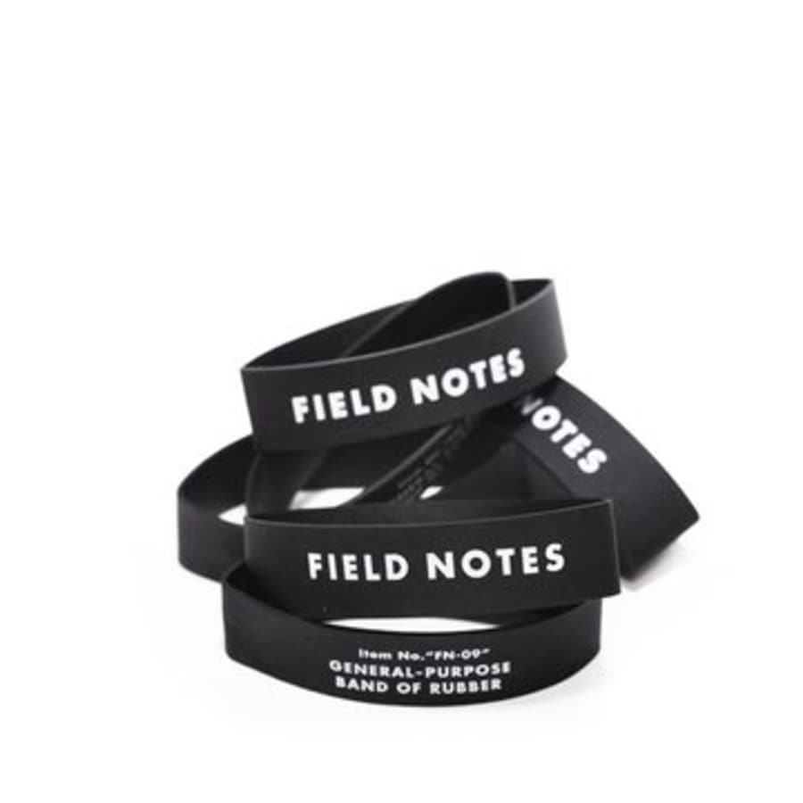 "Field Notes ""Bands of Rubber"" - by Field Notes - K. A. Artist Shop"