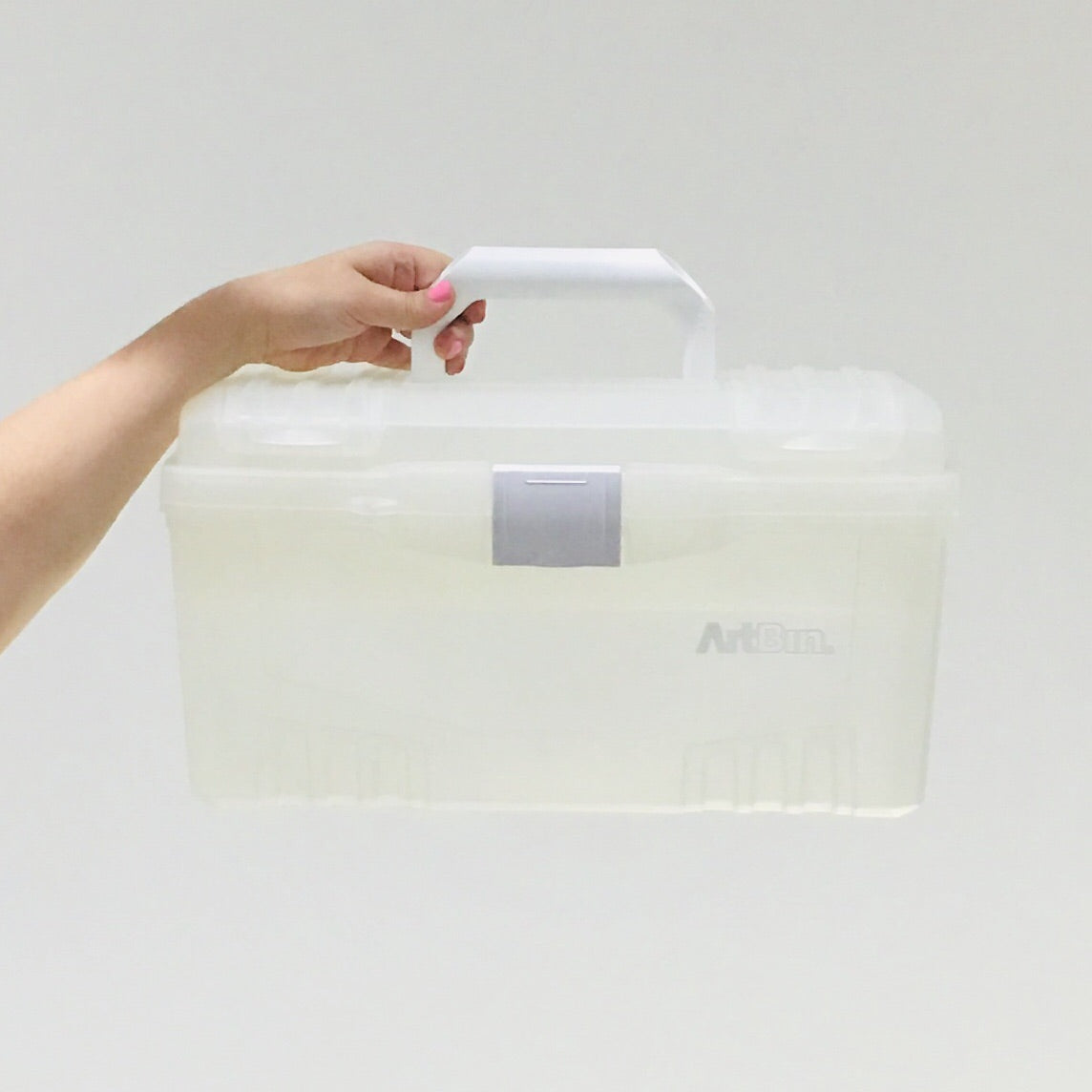 ArtBin Clear Twin Top Storage Box