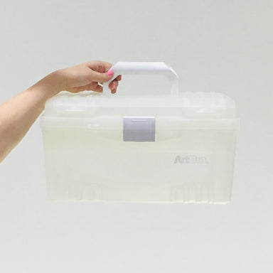 ArtBin Clear Twin Top Storage Box - by ArtBin - K. A. Artist Shop