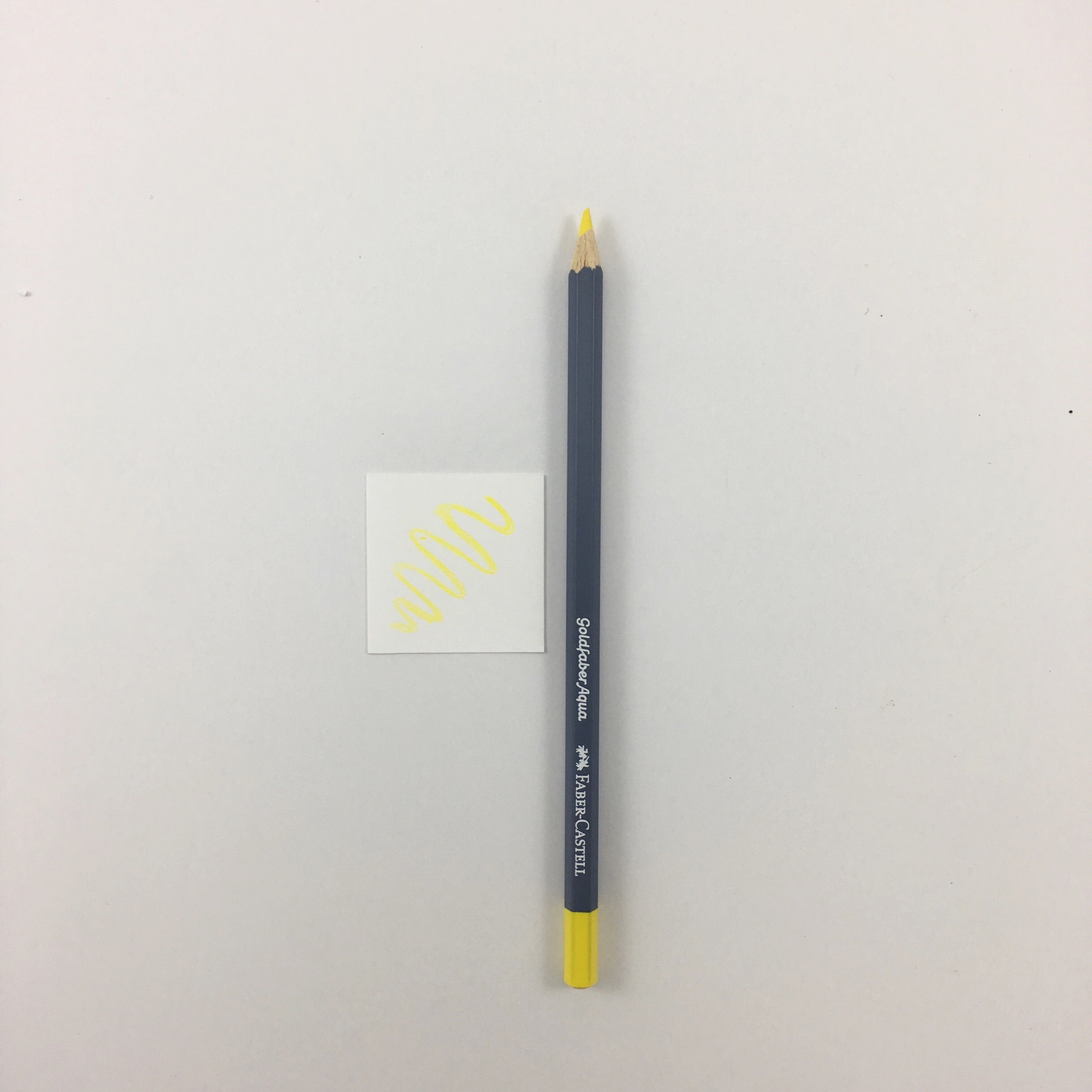Faber-Castell Goldfaber Aqua Watercolor Pencils - Individuals - 104 - Light Yellow Glaze by Faber-Castell - K. A. Artist Shop