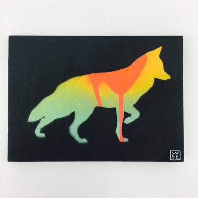 Wood Painted Animal Art by Will Eskridge