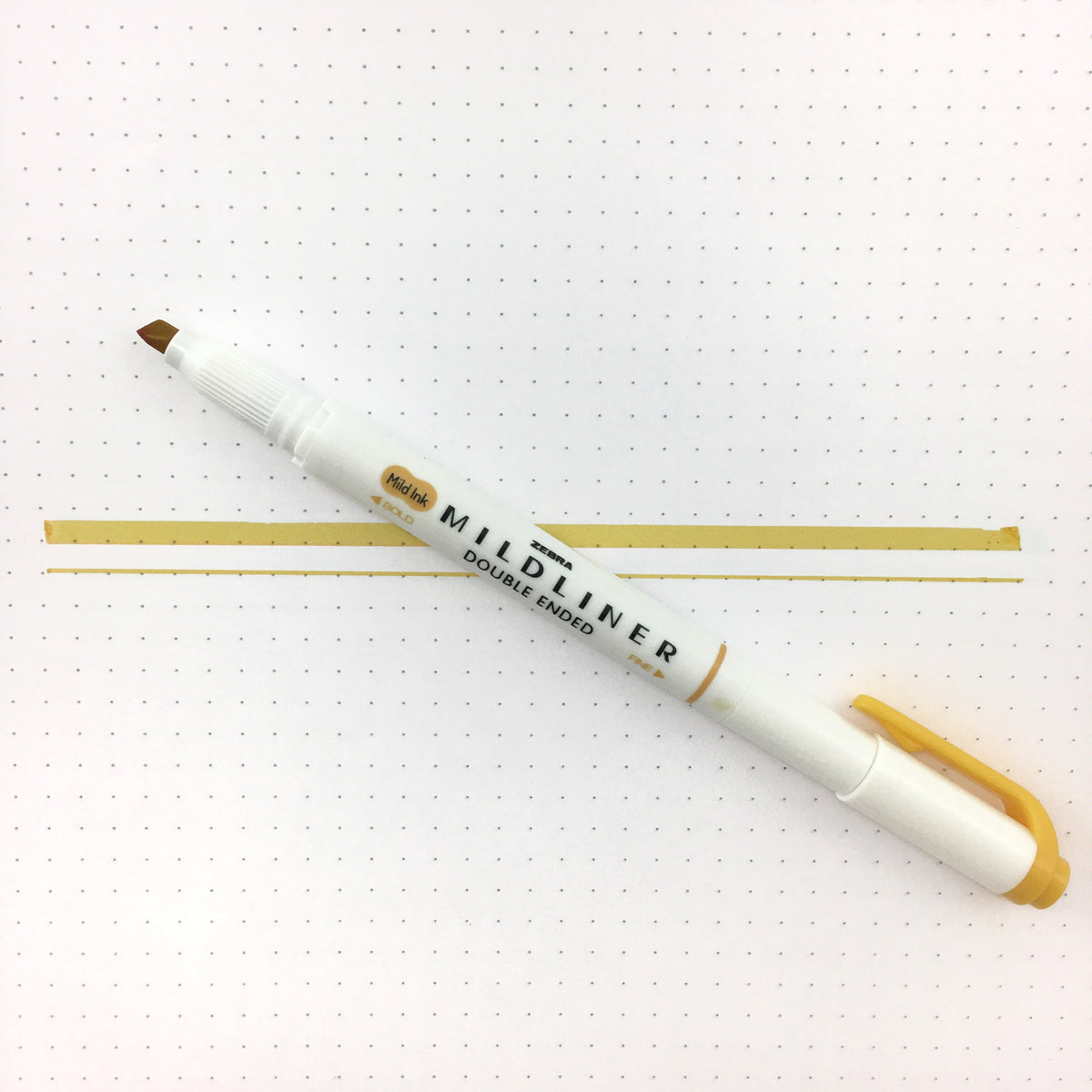 "Zebra ""Mildliner"" Double-Ended Highlighter"
