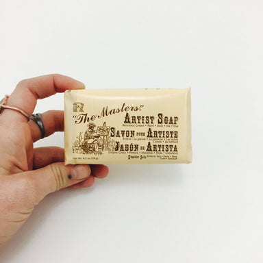"""The Masters"" Multipurpose Bar Soap - by General's - K. A. Artist Shop"