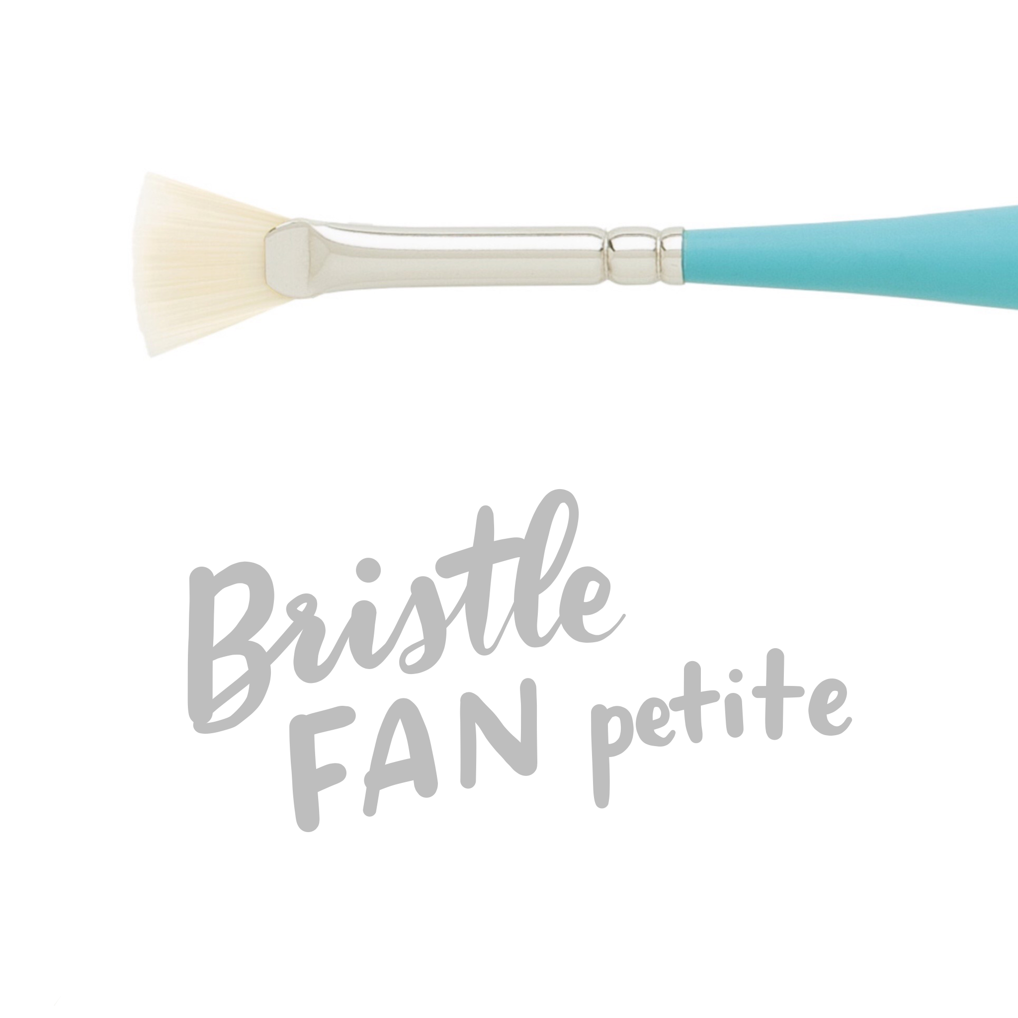 Princeton Select Artiste Mixed Media Paintbrushes - Bristle Fan (Petite) - by Princeton - K. A. Artist Shop