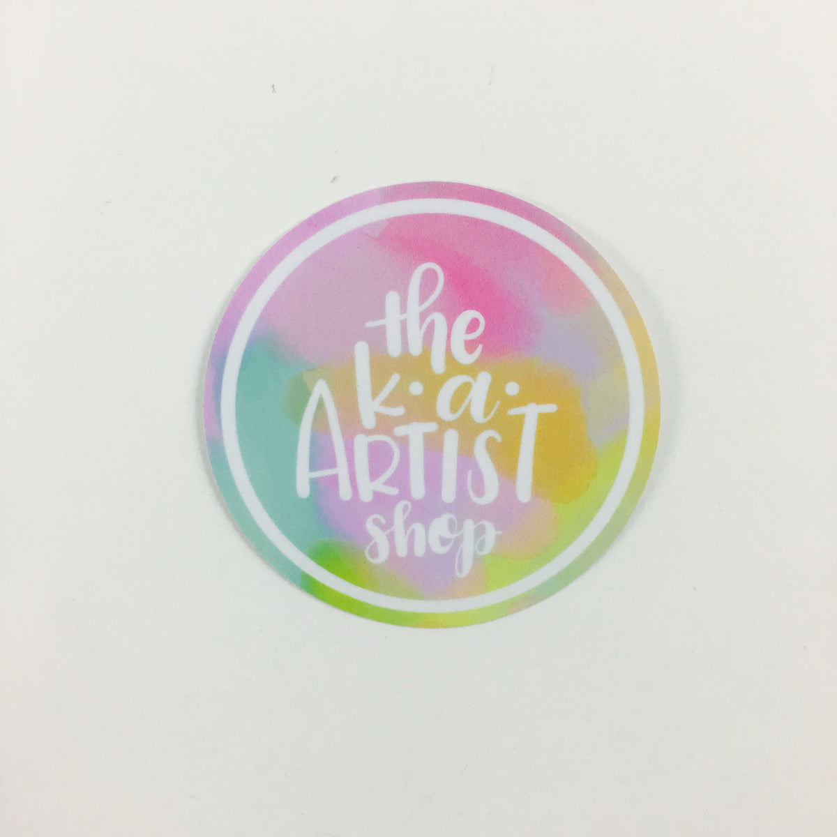 KA Artist Shop Stickers
