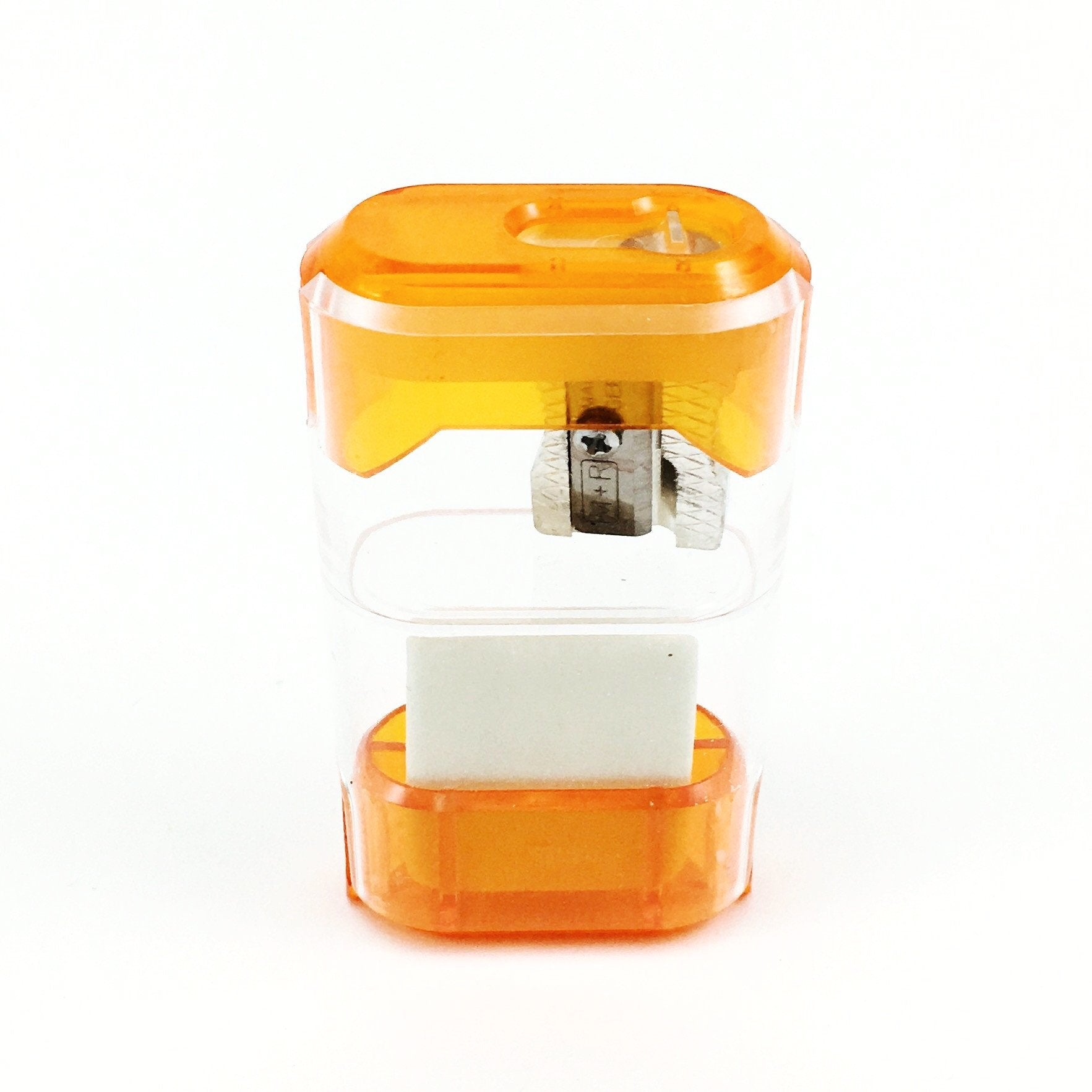 M+R Dual Sharpener and Eraser - Orange by M+R - K. A. Artist Shop