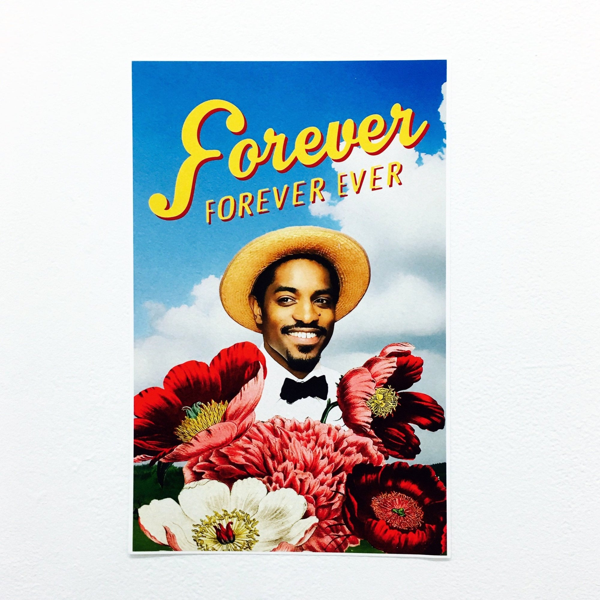"""Forever, Forever Ever"" Poster by Classic City Postal Service"