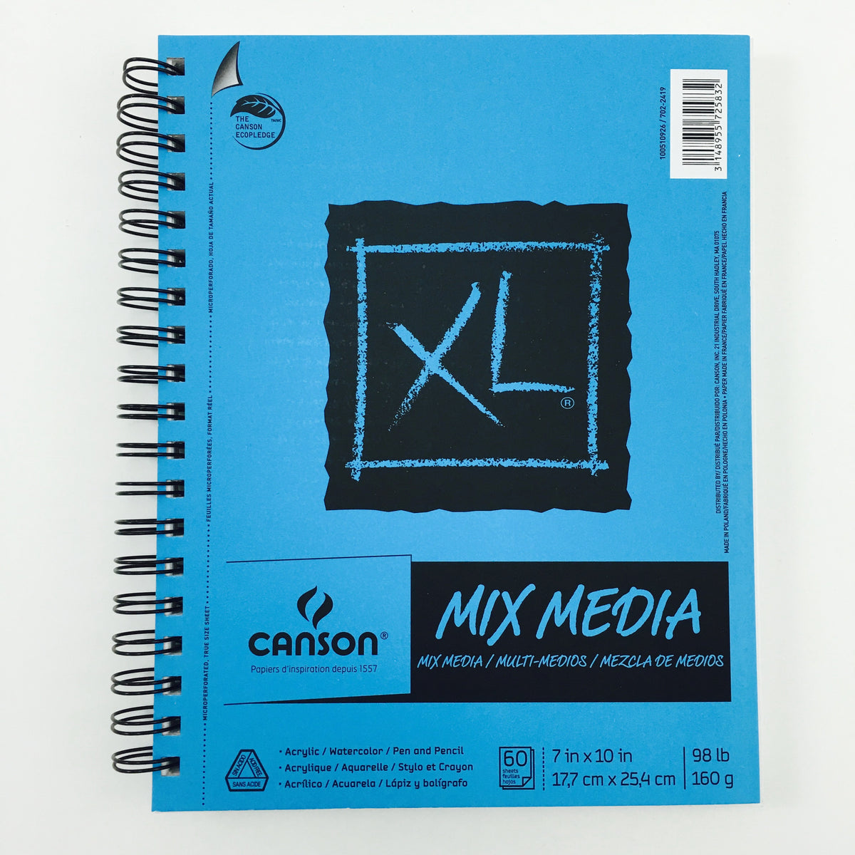 Canson XL Mix Media Sketchbooks