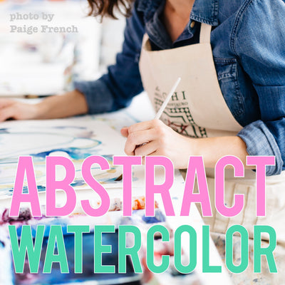 Abstract Watercolor Painting with Erin McIntosh