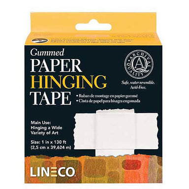 Gummed Paper Hinging Tape - by Lineco - K. A. Artist Shop